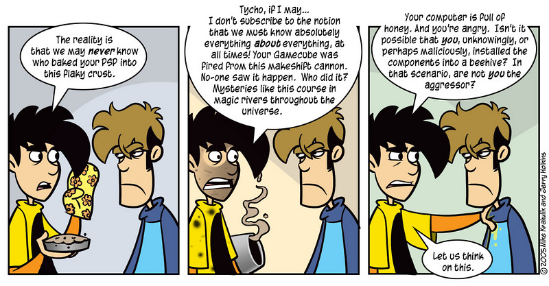 Tangled Webs And So Forth