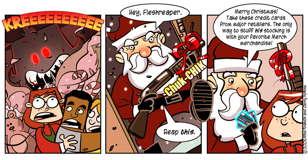 An Unbelievably Merch Christmas, Part Four