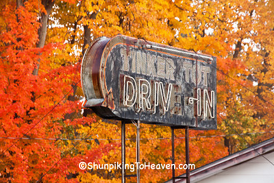 Abandoned Tinker Tot Drive-In, Rusk County, Wisconsin