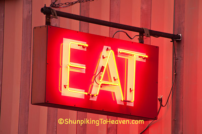 EAT Sign, Price County, Wisconsin