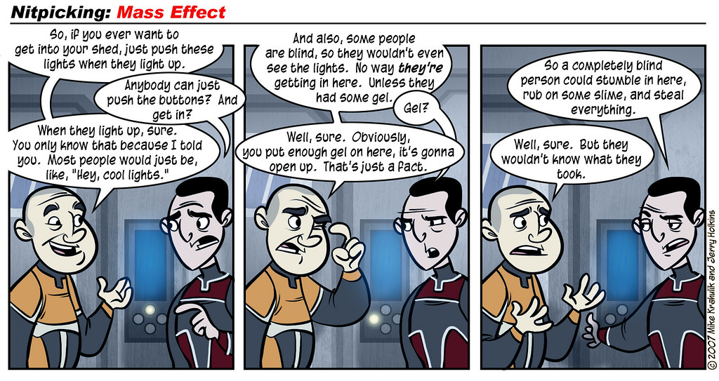 Nitpicking: Mass Effect, Part One