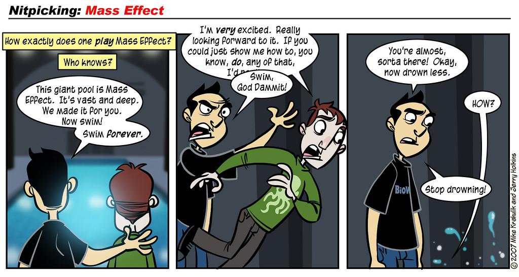 Nitpicking: Mass Effect, Part Three