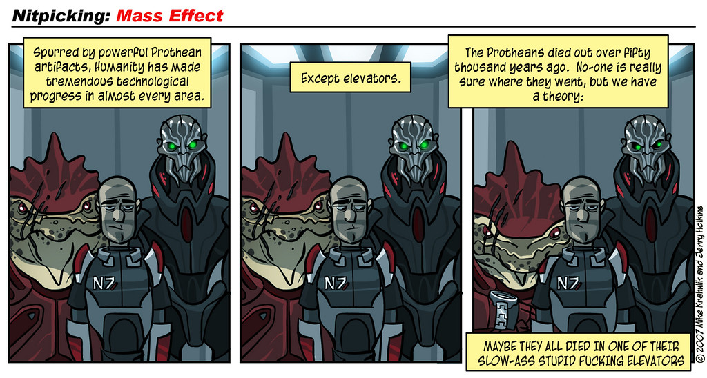 Nitpicking: Mass Effect, Part Two