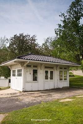 Vintage Gas Station, Mineral Point, Wisconsin