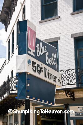 Blue Bell 50's Diner, c. 1932, McConnelsville, Ohio