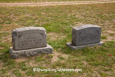 Gein Family Gravestones, Plainfield Cemetery, Waushara County, Wisconsin