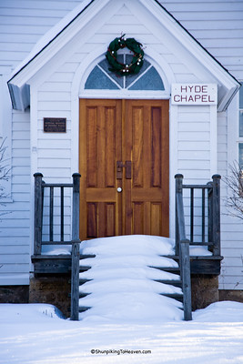 Hyde Chapel (Mill Creek Church), Built 1861, Iowa County, Wisconsin