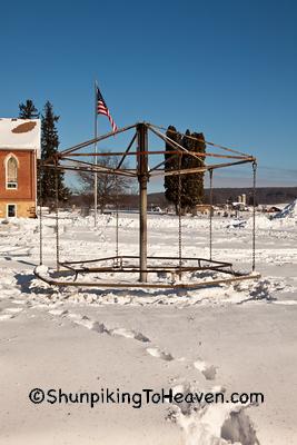 Antique Merry-Go-Round, Sauk County, Wisconsin