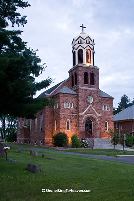 Our Lady of Lourdes Catholic Church, Built 1904, Barron County, Wisconsin