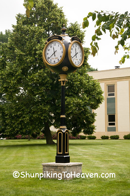 Tipton Railroad Clock, Cedar County, Iowa