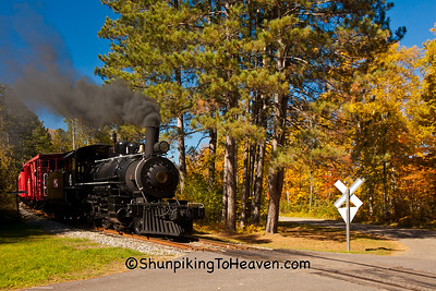 Lumberjack Steam Train, Laona, Wisconsin