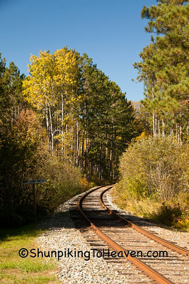 Railroad Tracks, Forest County, Wisconsin