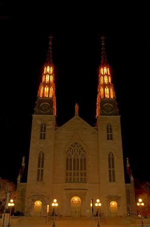 Notre Dame Basilica, Sussex Drive, Ottawa