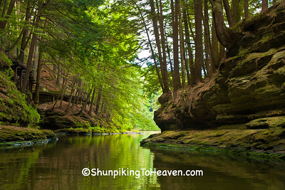 Upper Dells of the Wisconsin River, Wisconsin Dells, Wisconsin