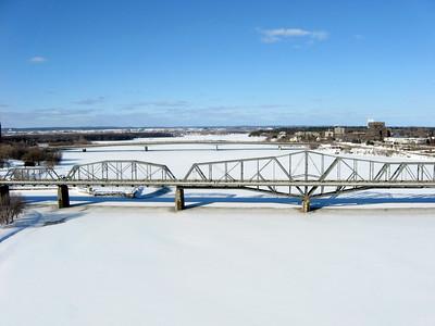 Alexandra Bridge between Ottawa, Ontario and Hull/Gatineau, Quebec