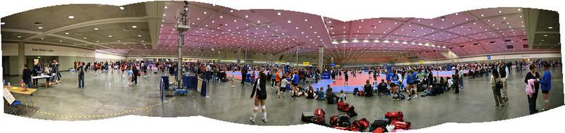 Convention Center Panorama