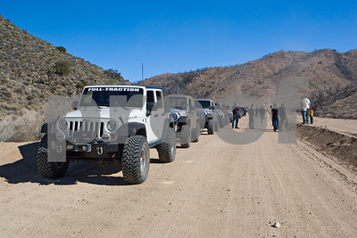 Jeeps on the Mojave Road