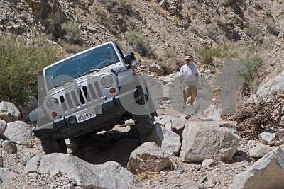 artpics putting his stock Rubi to the test in Last Chance Canyon