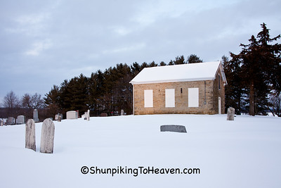 The Old Rock Church and Cemetery, Iowa County, Wisconsin