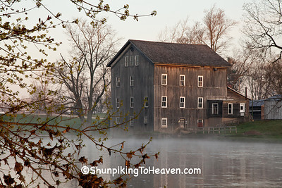Stockdale Roller Mill, 1857, Wabash County, Indiana