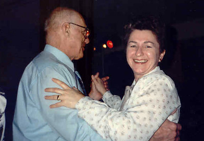 Larry and Mary, Dancing at the Groundhog Ball, 1990, Sun Prairie, Wisconsin