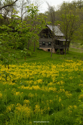 Log Cabin, Iowa County, Wisconsin