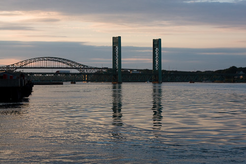 Portsmouth harbor & bridge