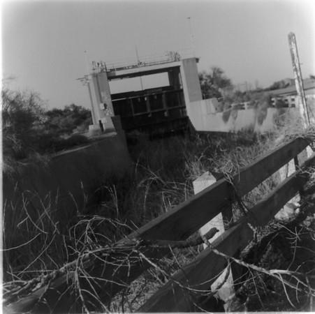 Laguna Dam - abandoned sluiceway