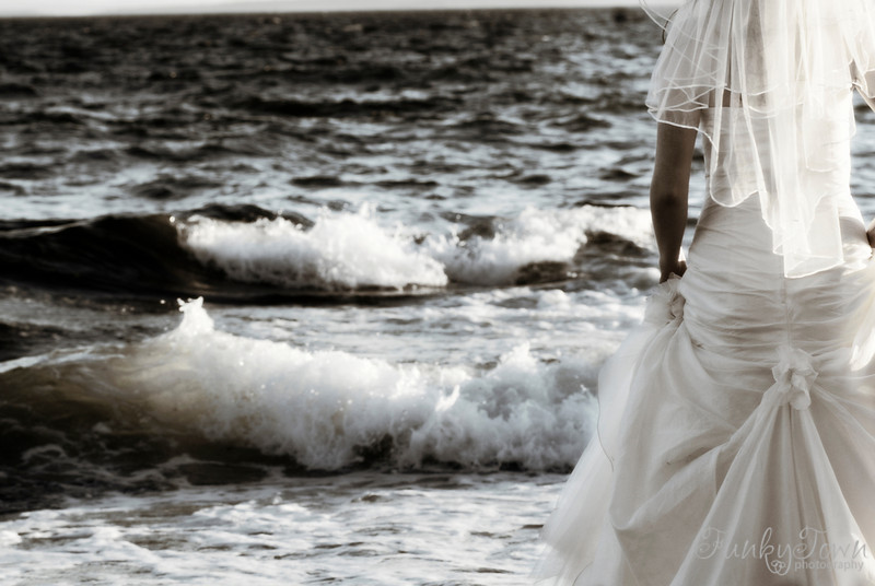 trashing the dress victoria british columbia wedding photography