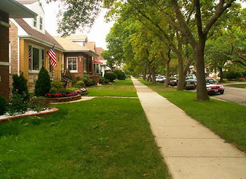 Nearby Residential Street