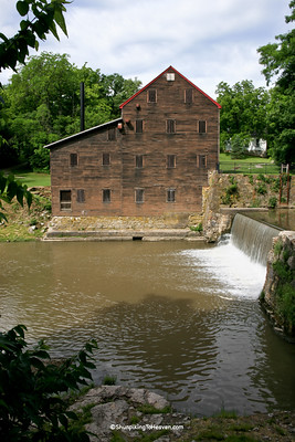 Pine Creek Grist Mill, Built 1850, Muscatine County, Iowa