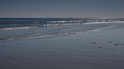 quiet ocean waters