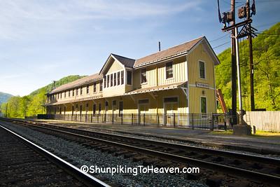 Thurmond Depot, Built 1904, Fayette County, West Virginia