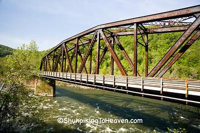 Railroad Bridge, Built 1916, Thurmond, West Virginia