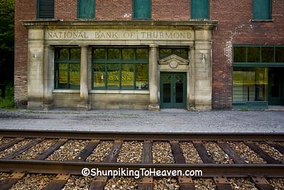 National Bank of Thurmond, Built 1917, Historic Thurmond, West Virginia