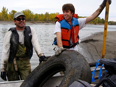 Yellowstone river cleanup