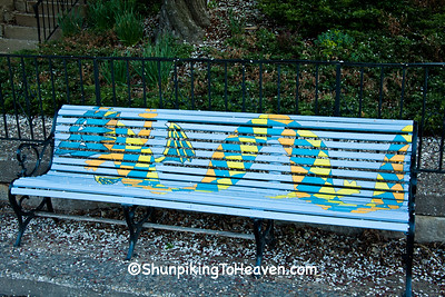 Sea Serpent (Loch Ness Monster) Bench, Burlington, Iowa