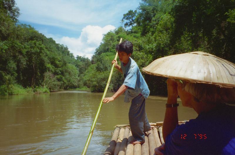 River trip near Chiang Mai