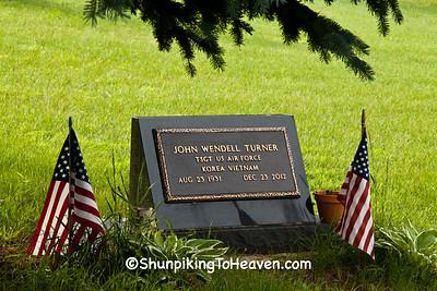 Korean & Vietnam War Veteran, Wee White Kirk Cemetery, Marquette County, Wisconsin