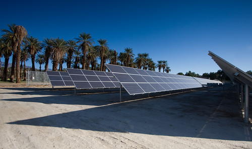 Furnace Creek solar array