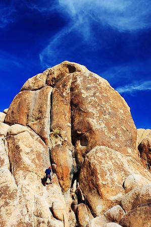 Rock Climbing at Joshua Tree