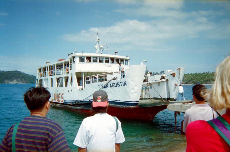 Ferry, Puerto Galera