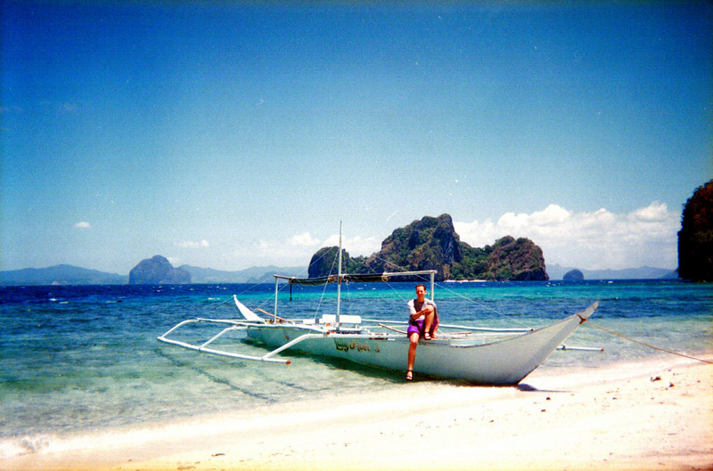 Boat trip, El Nido, Palawan