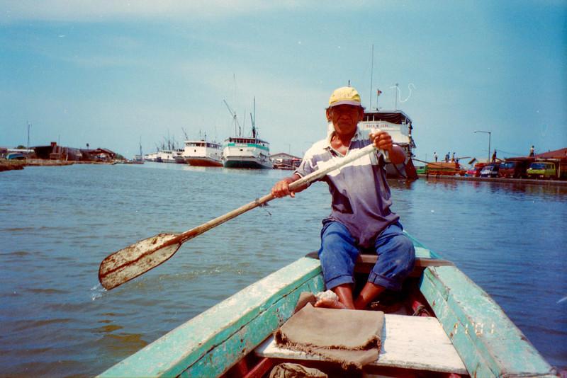 Row boat, Sunda Kelapa
