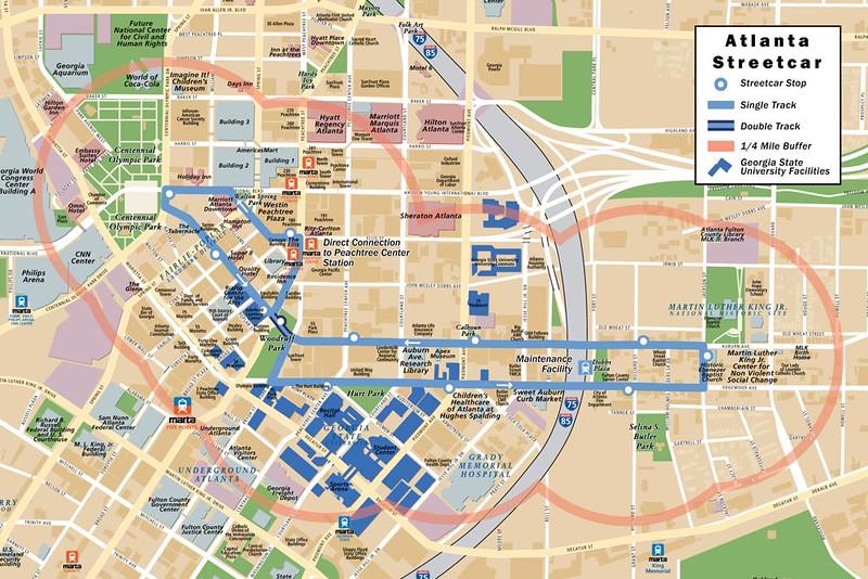 Atlanta Turns To Streetcar Development Follows Metro Jacksonville