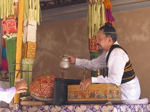 Balinese priest