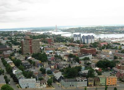 Halifax and Halifax Harbour in Halifax, Nova Scotia.