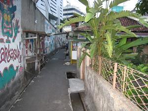 Side street of Jl Sabang