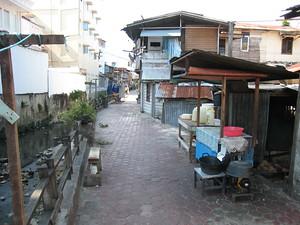 Backstreet of Balikpapan