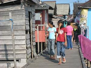 Stilt houses, Balikpapan